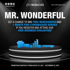 Mr. Wonderful Promotion