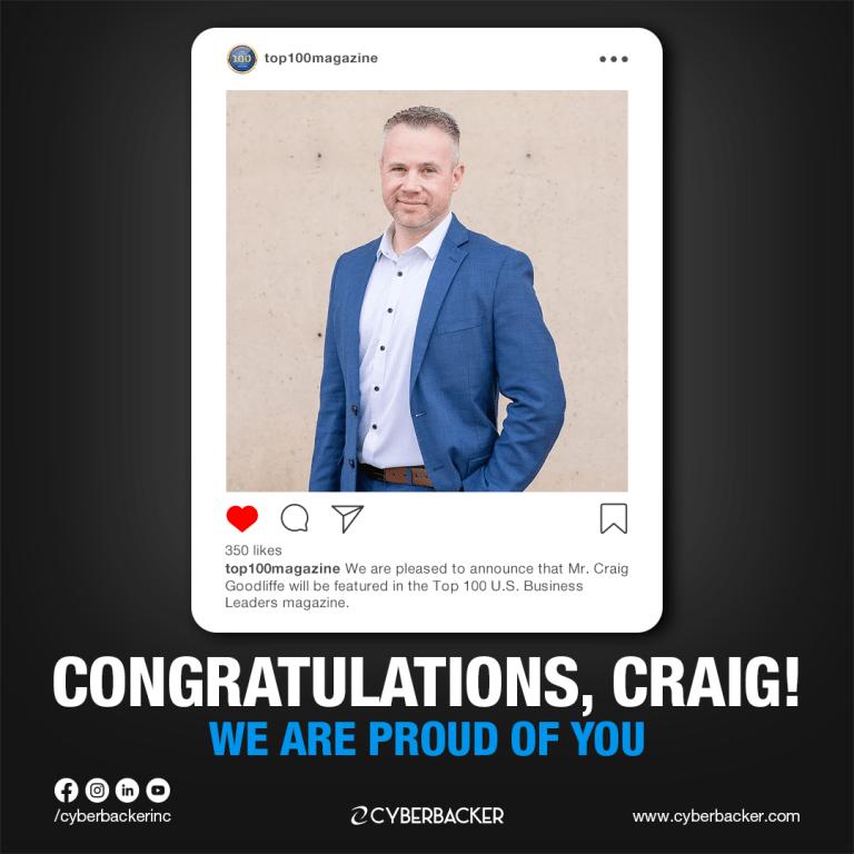 Congratulations Craig Goodliffe- Top 100 magazinevirtual assistant in United States of America, Virtual Assistant Canada, VA Canada