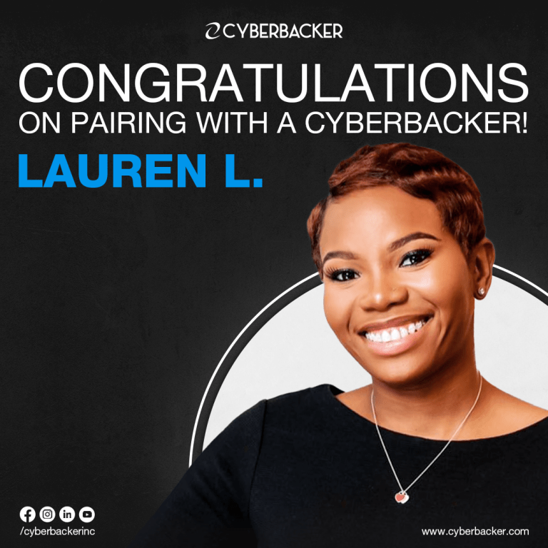 Congratulations on Pairing with a Cyberbacker , Virtual Assistant