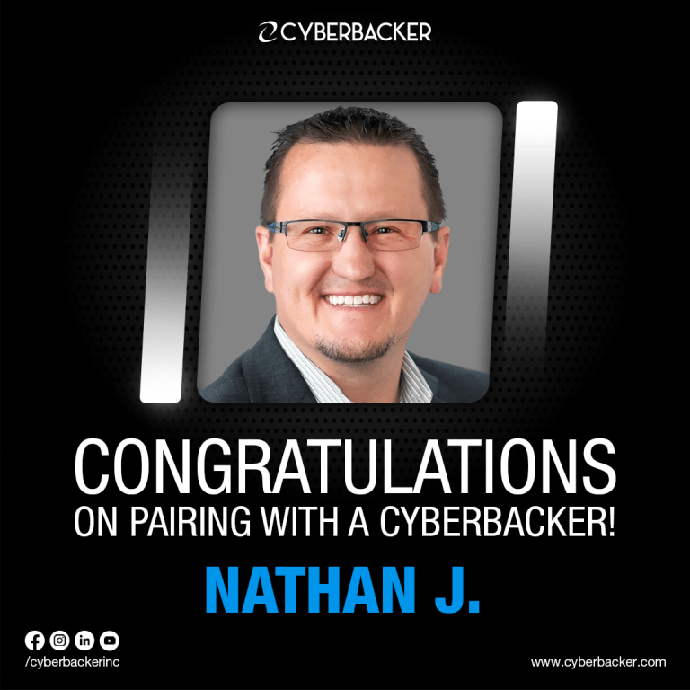 Congratulations on Pairing with a Cyberbacker