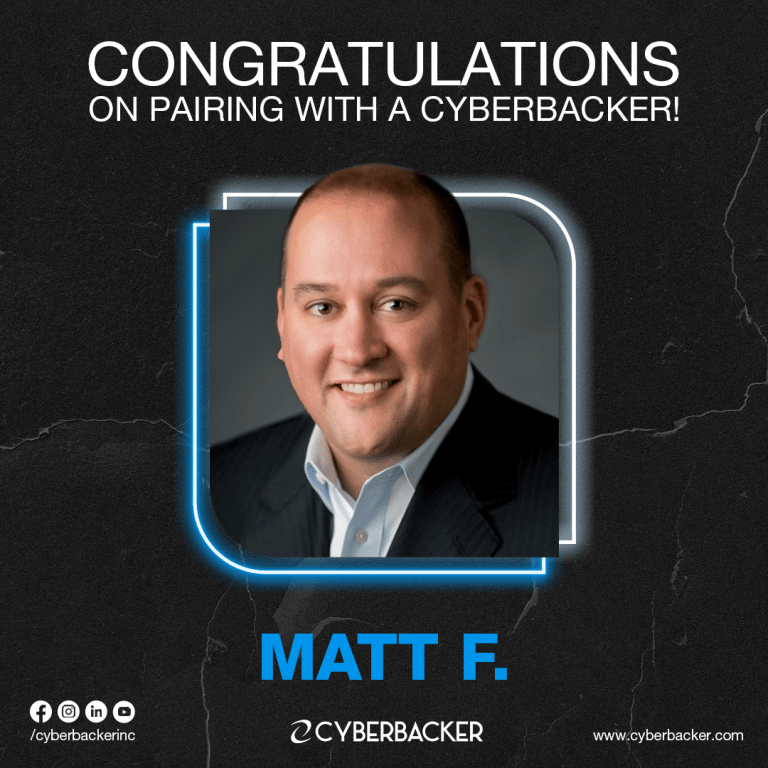 Congratulations on Pairing with a Cyberbackervirtual assistant in United States of America, Virtual Assistant Canada, VA Canada