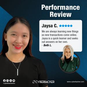 Cyberbacker Performance Review
