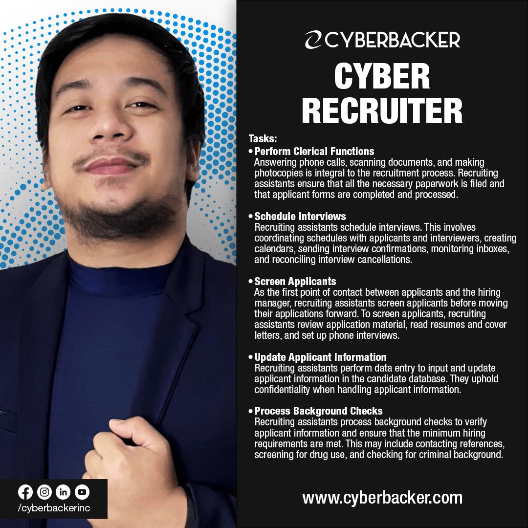 Cyberbacker Services - Cyber Recruiter