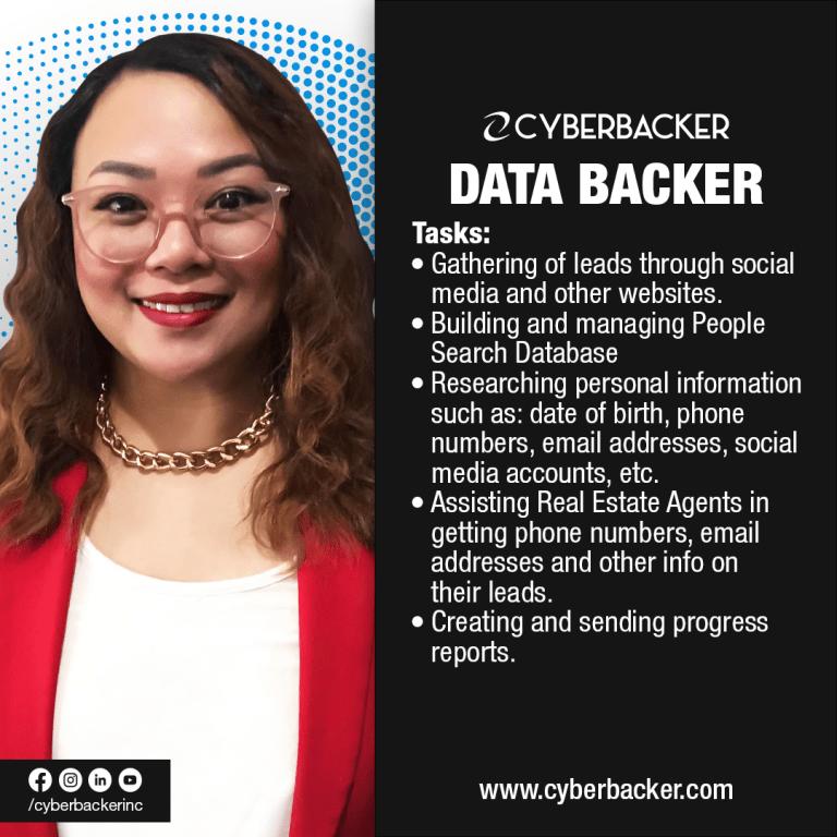 Cyberbacker Services - Data Backer