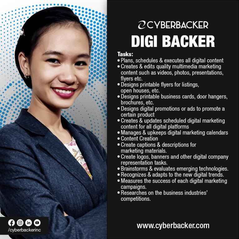 Cyberbacker Services - Digi Backer
