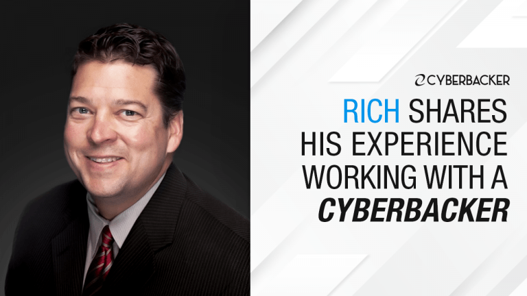 Experience Working With A CYBERBACKER w Rich [Part 4]