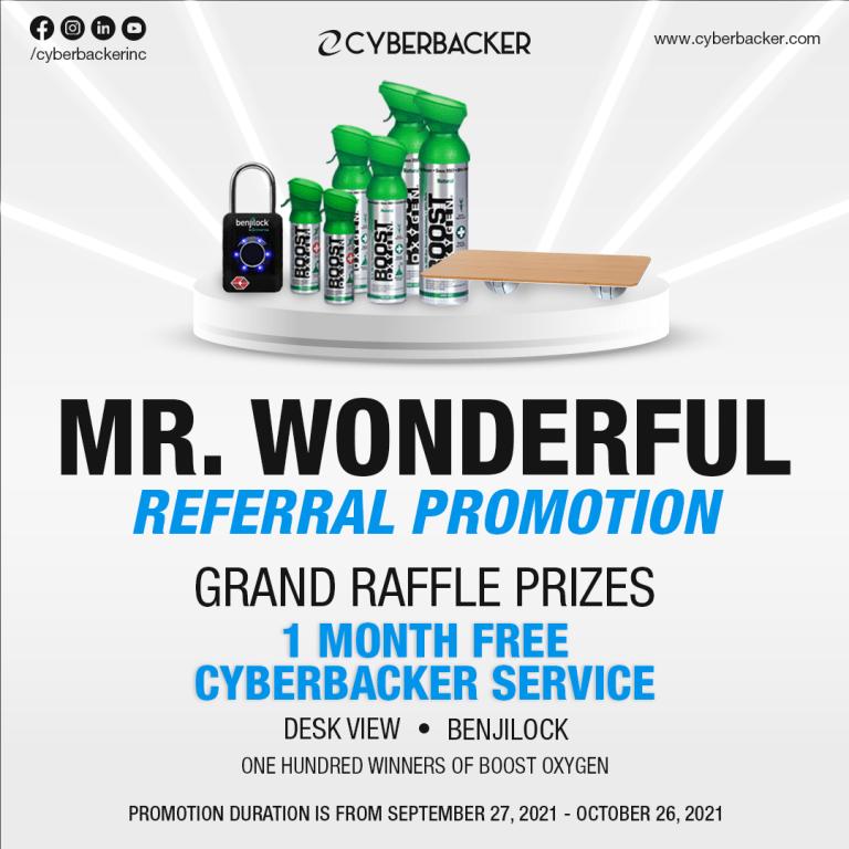 Mr. Wonderful Referral Promotion
