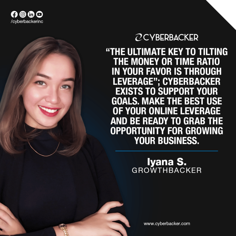 Partner with a Cyberbacker TODAY