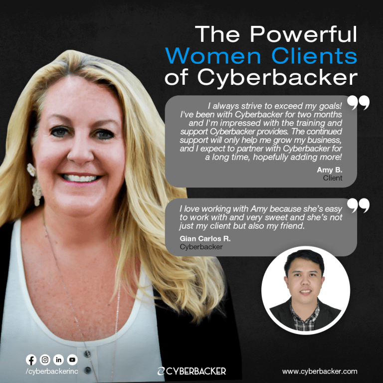 The Powerful Women Clients of Cyberbacker