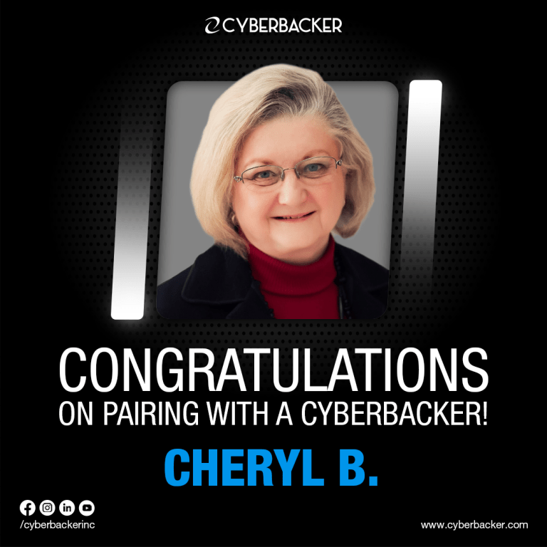 Congratulations on Pairing with a Cyberbacker - Evaluate Your Business For Free