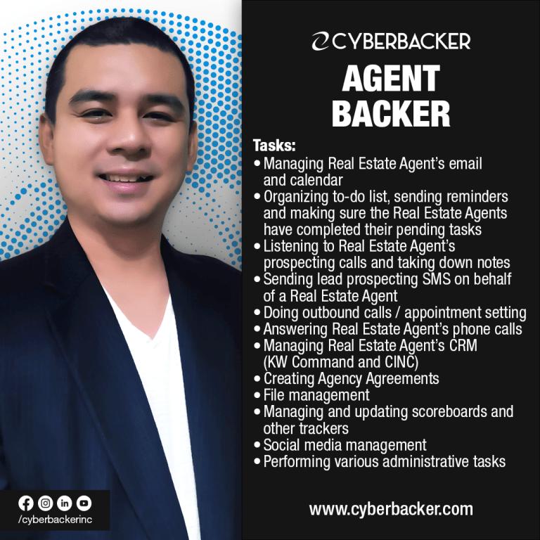 Cyberbacker Services - Agent Backer