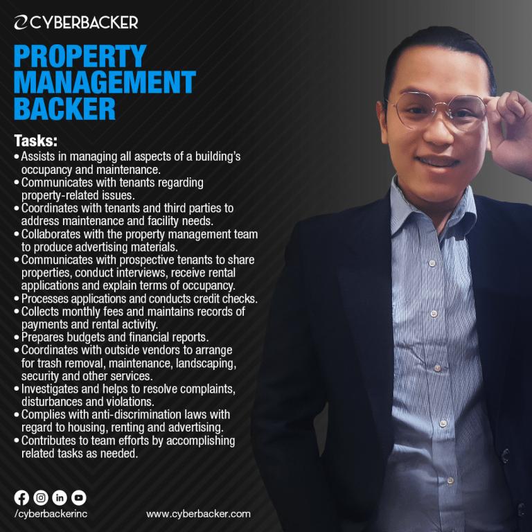 Cyberbacker Services -Property Management Backer