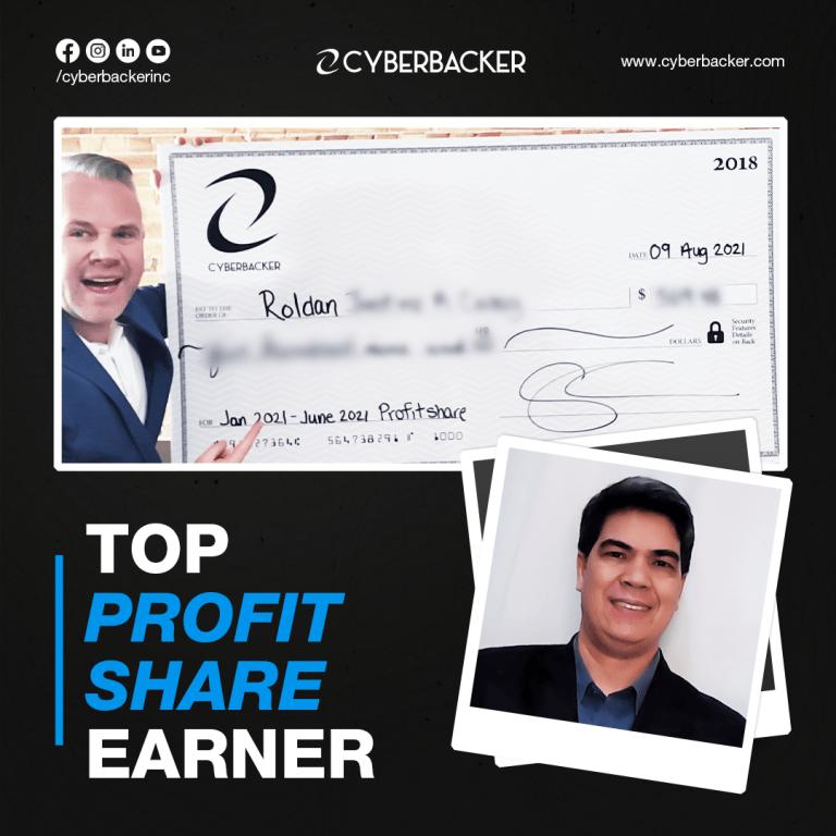 Top Profit Share Earner - Roldan C.
